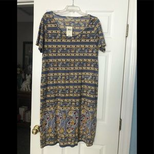 Lucky dress, NWT, 1X. Short sleeve, summer!